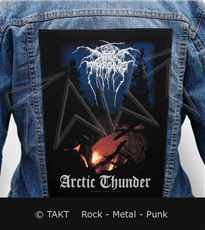 Nášivka na bundu Dark Throne - arctic Thunder