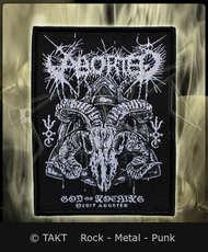 Nášivka Aborted - god Of Nothing