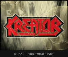 Nášivka Kreator - logo Cut Out