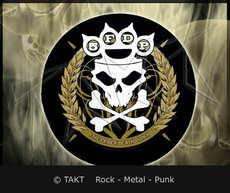 Nášivka kulatá Five Finger Death Punch - knucklecracker