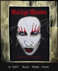 Nášivka Marilyn Manson - face 02