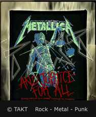 Nášivka Metallica - .  .  .  And Justice For All 2