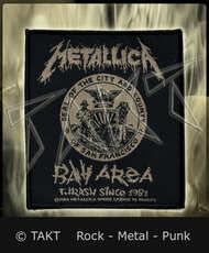 Nášivka Metallica - bay Area