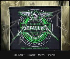 Nášivka Metallica - seek And Destroy