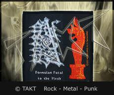 Nášivka Morbid Angel - Formulas Fatal To The Flesh