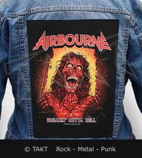 Nášivka na bundu Airbourne - breakin  Outta Hell