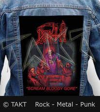 Nášivka na bundu Death - Scream Bloody Gore