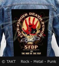 Nášivka na bundu Five Finger Death Punch - The Way Of The Fist