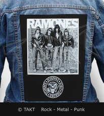 Nášivka na bundu Ramones - 1976 - foto
