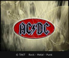 Odznak AC/ DC Logo Oval