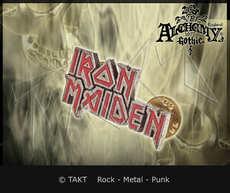 Odznak Iron Maiden Logo Alchemy