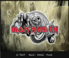 Odznak Iron Maiden - number Of The Beast