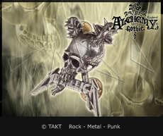 Odznak Metallica - damage Inc.  - Alchemy