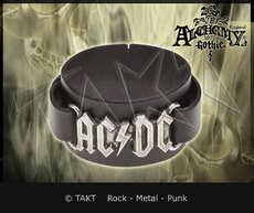 Pásek na ruku kožená Ac/ dc - logo 01 Alchemy