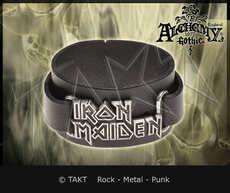 Pásek na ruku kožená Iron Maiden - logo 03 Alchemy