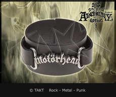 Pásek na ruku kožená Motorhead - logo Alchemy