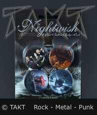 Placka střední Nightwish Kpl.  4 ks (Imp. )
