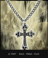 Přívěšek Kříž 61