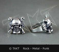 Prsten -  Lebka 24 Helm