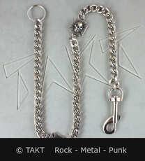 Řetěz na kalhoty  08  kříž rytířský lebka