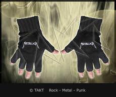 Rukavice Metallica - logo