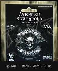 Samolepka Avenged Sevenfold - hail To The King