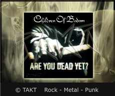 Samolepka Children Of Bodom - Are You Dead Yet?