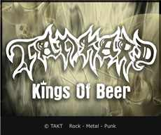 Samolepka na Auto Tankard - kings Of Beer