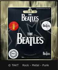 Samolepka The Beatles - logo Vinyl
