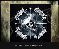 Šátek Ensiferum - skull