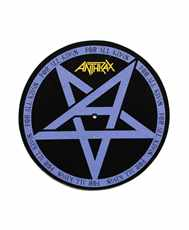 Slipmata Anthrax - for All Kings  dekorace do gramofonu