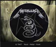Slipmata Metallica - black Album dekorace do gramofonu