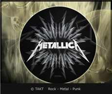 Slipmata Metallica - death Magnetic dekorace do gramofonu