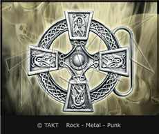 Spona na opasek keltský kříř 16