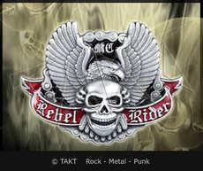 Spona na opasek Lebka 26 Rebel Rider