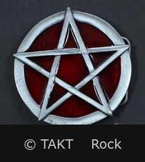 Spona na opasek Pentagram 8