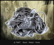 Spona na opasek Wilk 3 Wolf