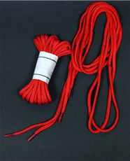 Tkaničky do bot - Červené 220cm