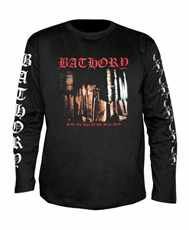 Tričko s dlouhým rukávem Longsleeve Bathory - under The Sign Of The Black Mark All Print Imp.