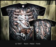Tričko Bone Cage All Print