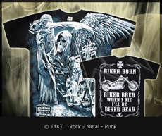 Tričko death Rider All Print