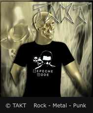 Tričko Depeche Mode - Band - All Print