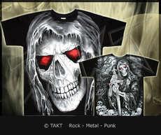 Tričko Evil Skull All Print
