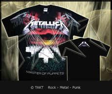 Tričko Metallica - Master Of Puppets All Print (imp. )