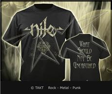 Tričko Nile - what Should Not Be Unearthed Imp.