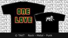 Tričko - One Love Bf