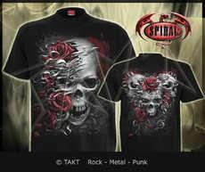 Tričko Skulls N Roses Imp.