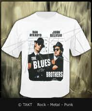Tričko The Blues Brothers Imp.  White