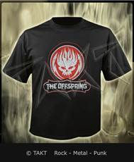 Tričko The Offspring - distressed Skull Imp.