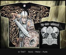 Tričko Viking 49 - midgard Warrior All Print